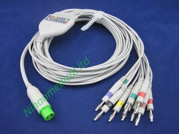 EKG118IOD NEC ecg cable