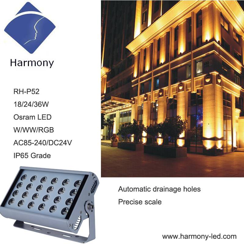 Window Outdoor LED Shop Lighting for Hotel Building