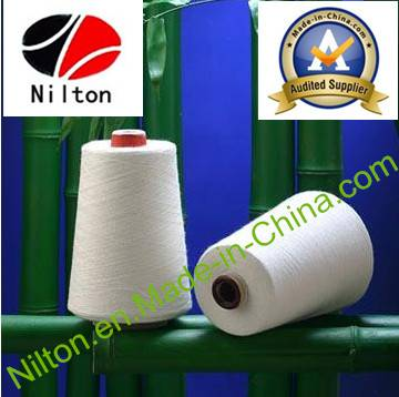 Best Price 100% Bamboo Fibre Yarn in Raw White