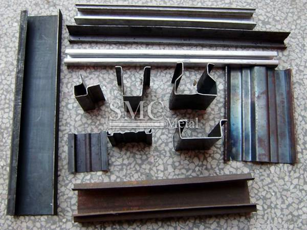 Cold Formed (Channels- Angles- C Channels- steel sheet piles)