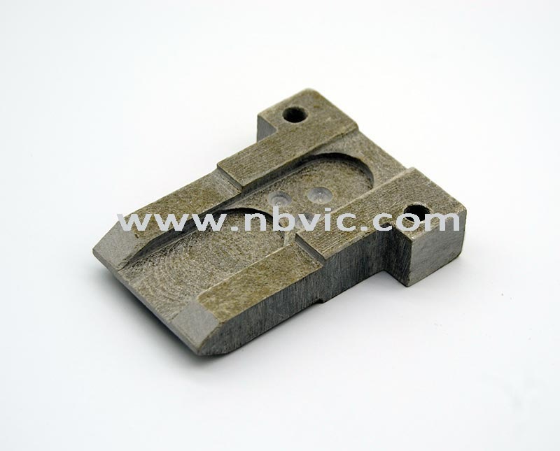 Thick mica customized part