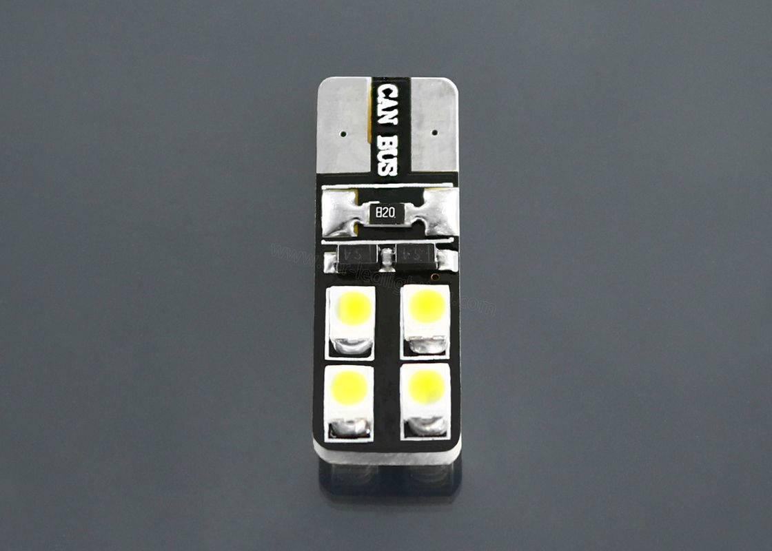 White Color 8 Pcs SMD 3528 W5W Led Light Canbus Led Lights For Cars