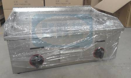Stainless steel gas griddle/ table top flat plate griddle--720