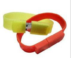 Hand Ring USB Flash Disk,Silica gel Ring Memory Chip