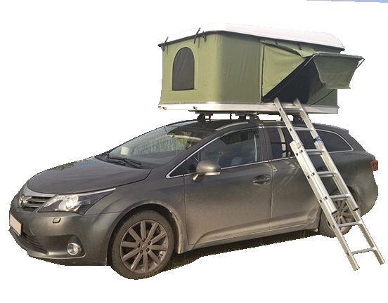 Hard shell roof top tent CARTT01-3  Hard Shell Roof Top Tents Manufacturer  Hard Shell Roof Top Tent