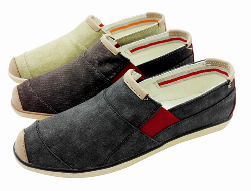 Slip-on canvas shoes FW-CV16257