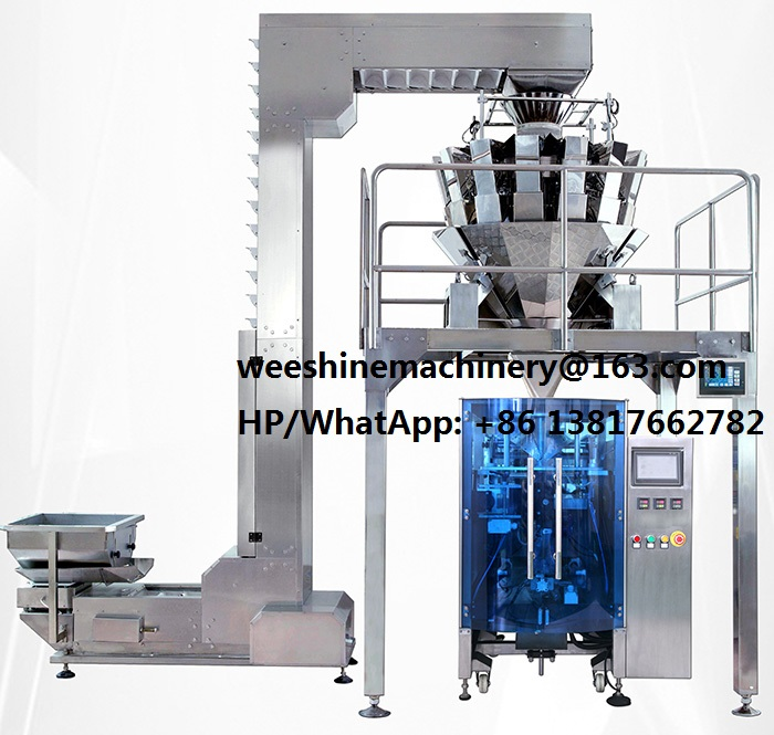 SNAKS AUTO WEIGHING AND PACKAGING MACHINE