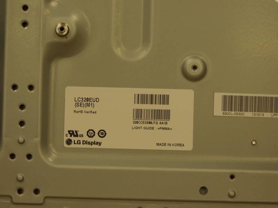 31.5 inch landscape 120HZ wide LCD Panel LC320EUD-SEM1