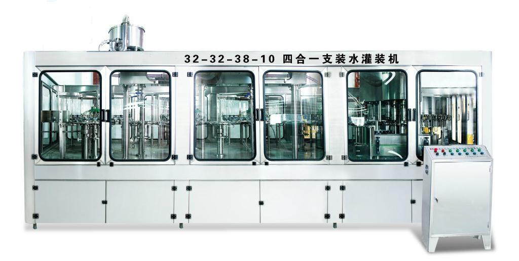 Turnkey Bottled Water Filling Line / Bottling Plant