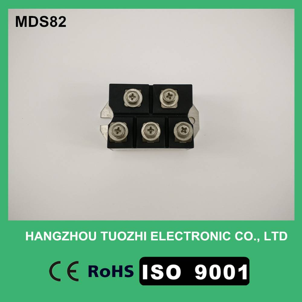 Three phase bridge rectifier module MDS82A1600V
