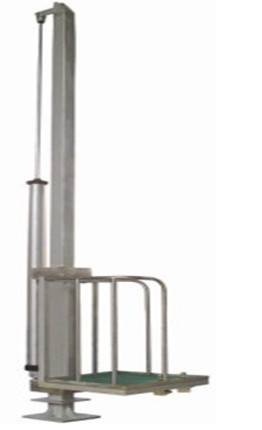 Cattle Abattoir (slaughter) Single-Pillar Pneumatic Elevator
