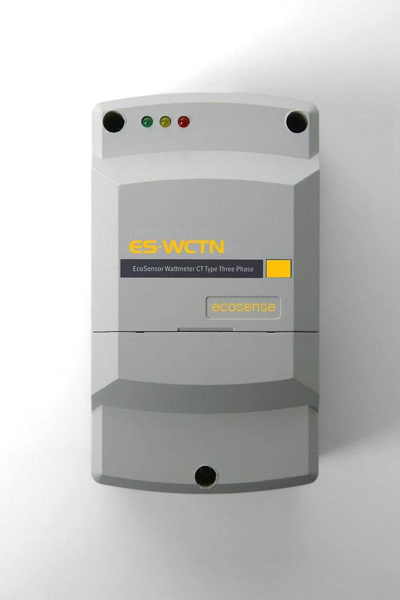 EcoSensor Wattmeter CT type Three Phase Network