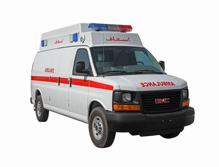 AMBULANCE -GMC SAVANA
