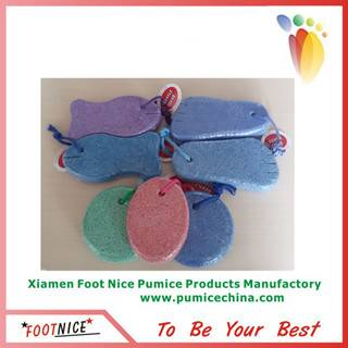 foam pumice sponges for callus remover pedicure foot