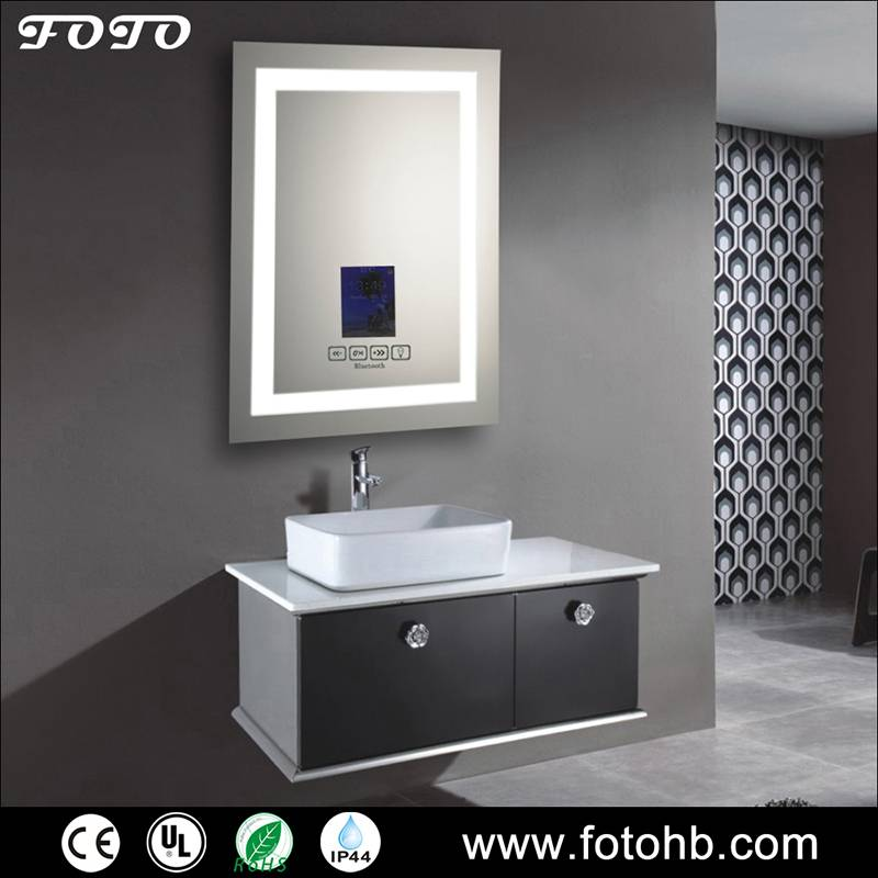 LED Lighted Mirror with Bluetooth Option
