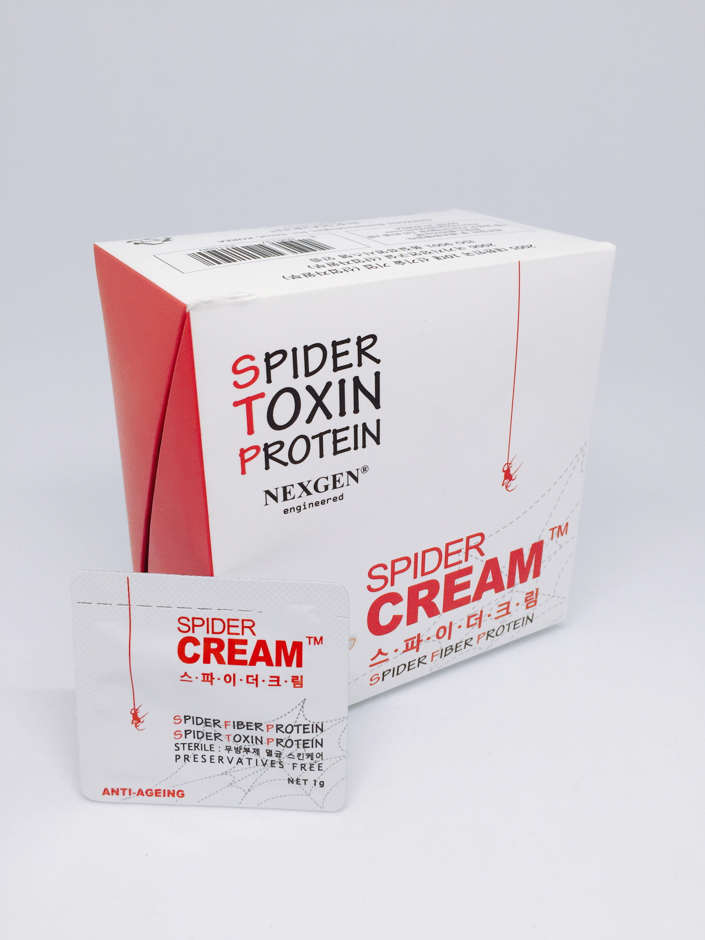 Anti-Wrinkle Cream with Spider Toxin & Fiber Proteins - SPIDER CREAM Preservative Free