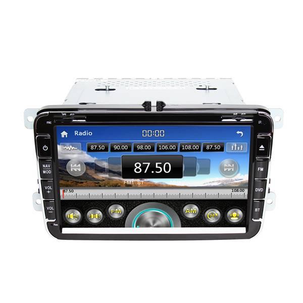 8 inch double din car stereo for VW Universal car gps for MAGOTAN /SAGITAR/BORA/GOLF6/TOUGUAN