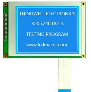 320x240 Graphic LCD Module