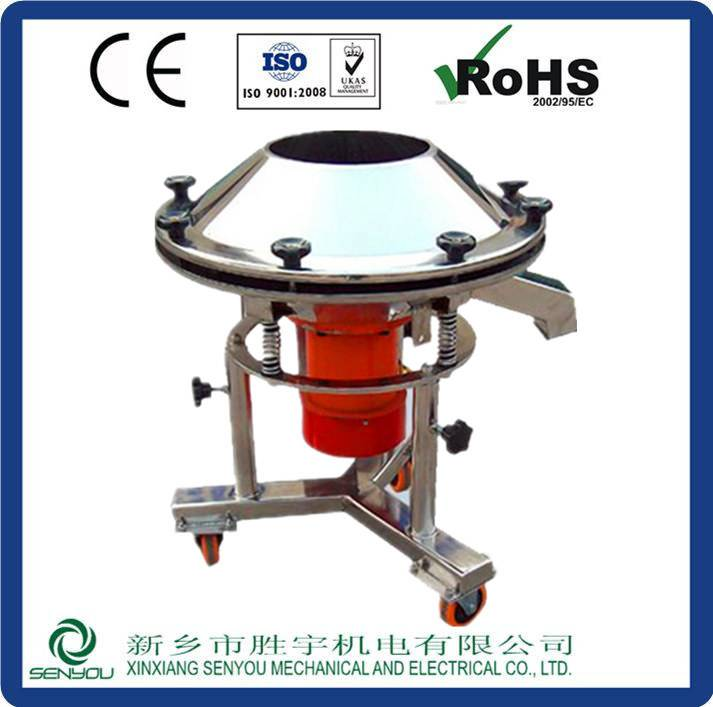 High screening efficiency wet circle vibrating sieve for ceramic industry