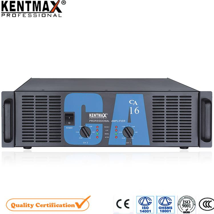 Hot Sale CA 500W 800W 2U 3U IC Tube Audio Professional High Power Amplifier