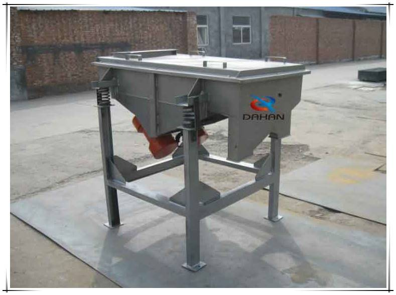 linear machine walnut powder vibrating filter screen