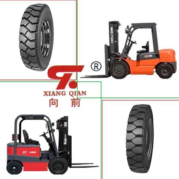 Good Quality Bias Industrial Forklift Tires