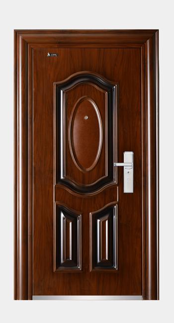 Competitive Luxury Steel Door Metal Door for Keeping Home safety Certified Fire Rated steel security