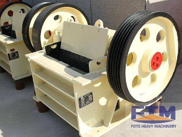 Small size jaw crusher for basalt