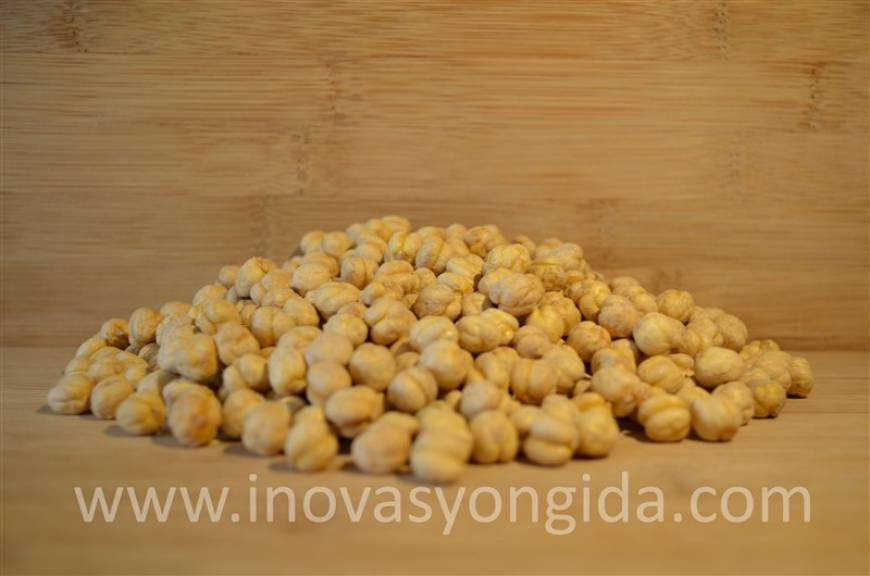 Salted Yellow Chickpeas