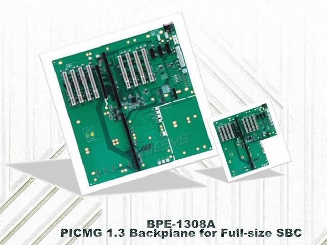 BPE-1308AC2: 13-slot PICMG 1.3 SHB Backplane for Full-size SBC