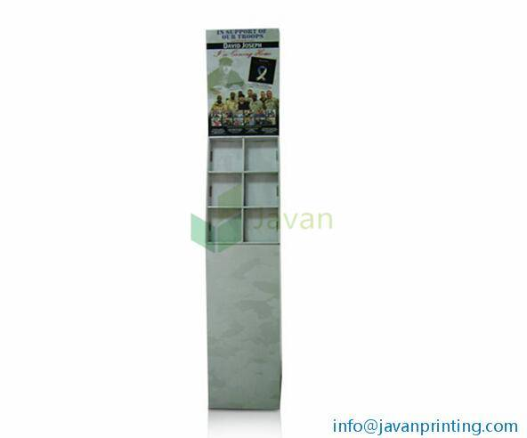 DV Corrugated Cardboard POP Display Manufacturer