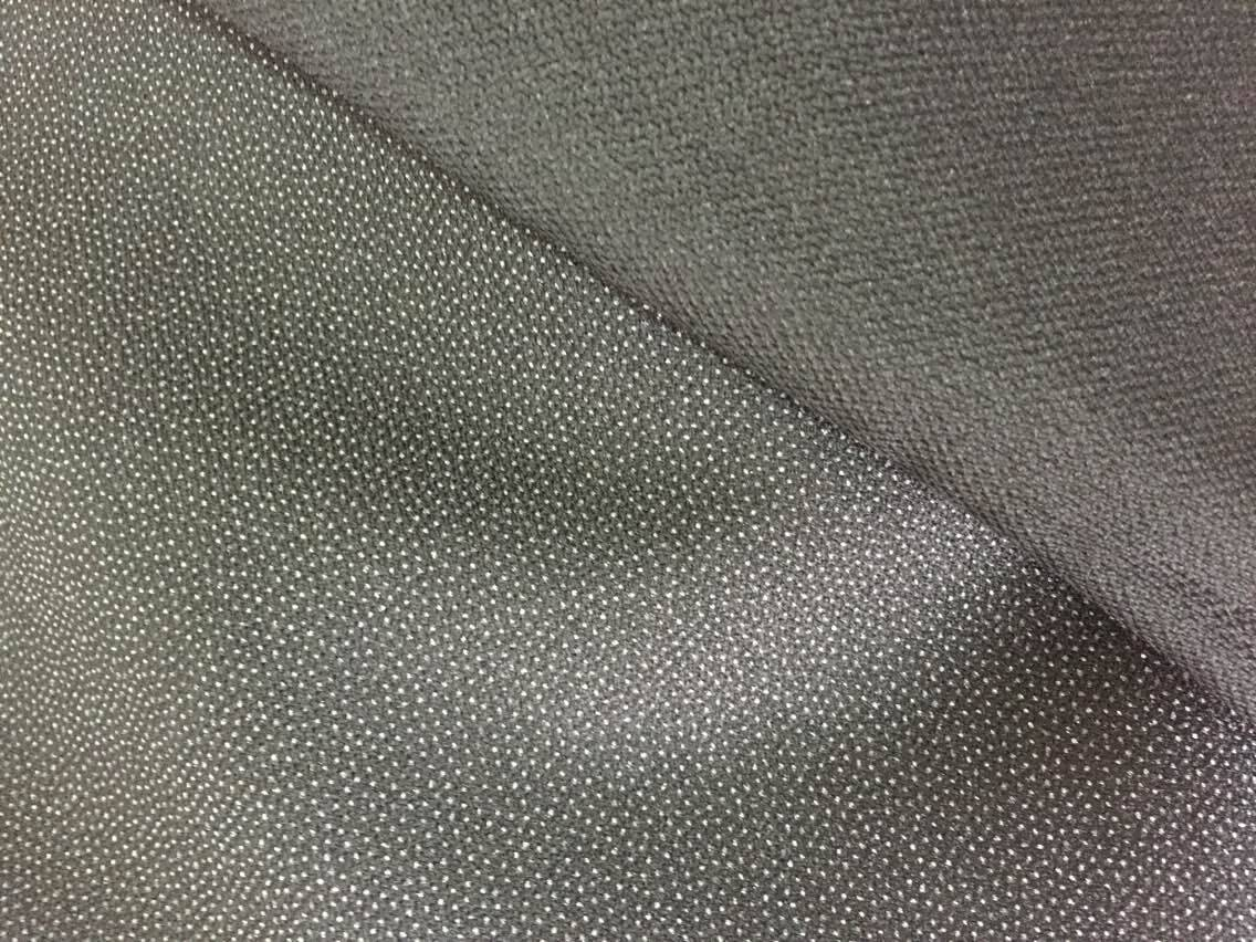 100*300D doule dot polyester fusible interlining