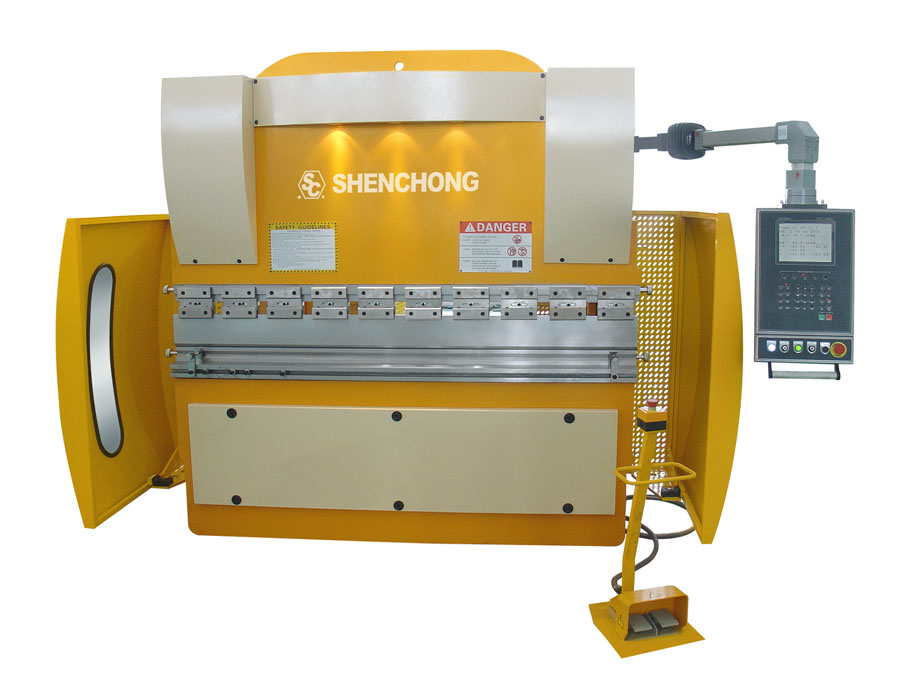 CNC hydraulic press brake 63T2000 Cybelec 600s for sheet metal fabrication