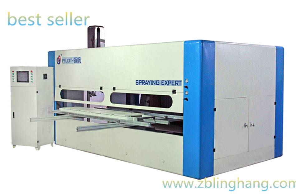 unique products to sell door automatic spraying machine