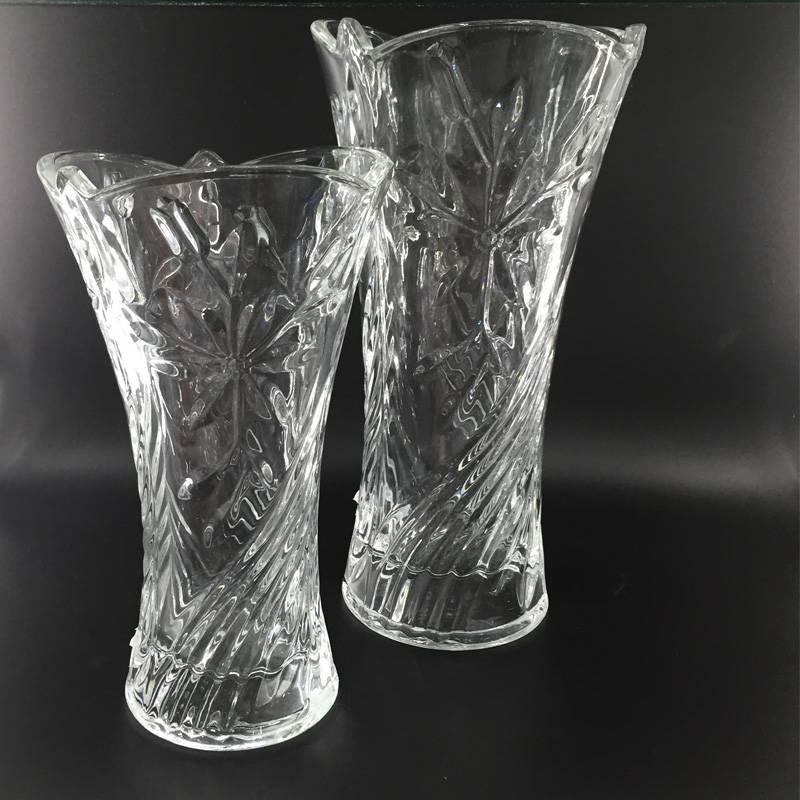High qualtiy Glass vase flower vase glass cup tempered fresh box