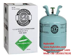 Hybridm refrigerant r134a gas 99.99% best price