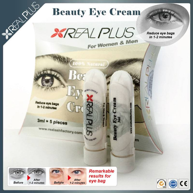Environmental protection beauty eye natural Eye Cream 0.5 fl / 15 ml labeled eye wrinkle cream