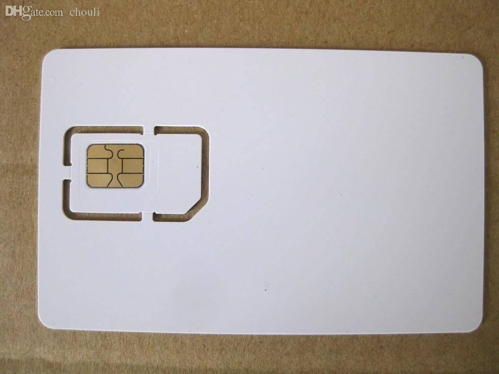 3G 4G WCDMA LTE test usim cards test sim cards blank test sim card for