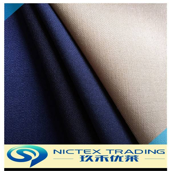 polyester wool formal wear men suiting fabrics