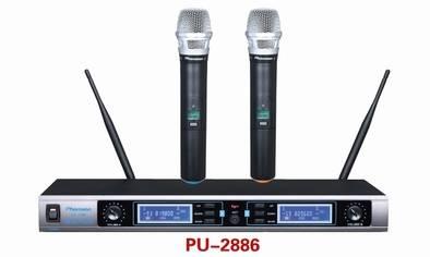 PU-2886 Sync IR UHF Wireless Microphone