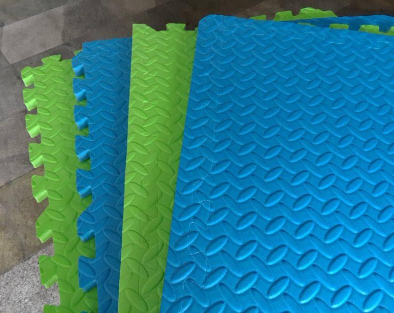 New pattern EVA floor mat foam puzzle mat