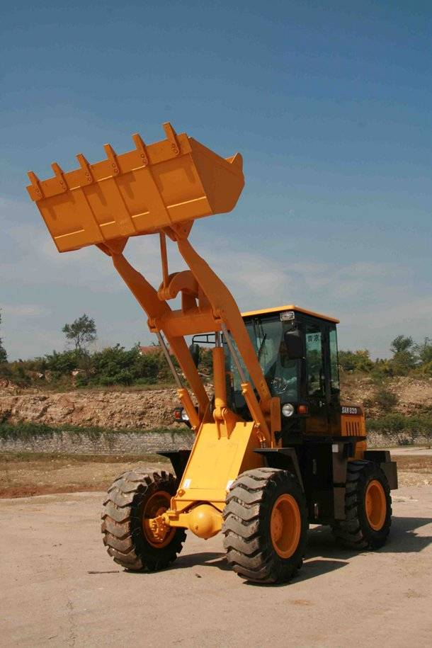 2016 new model 2t wheel loader