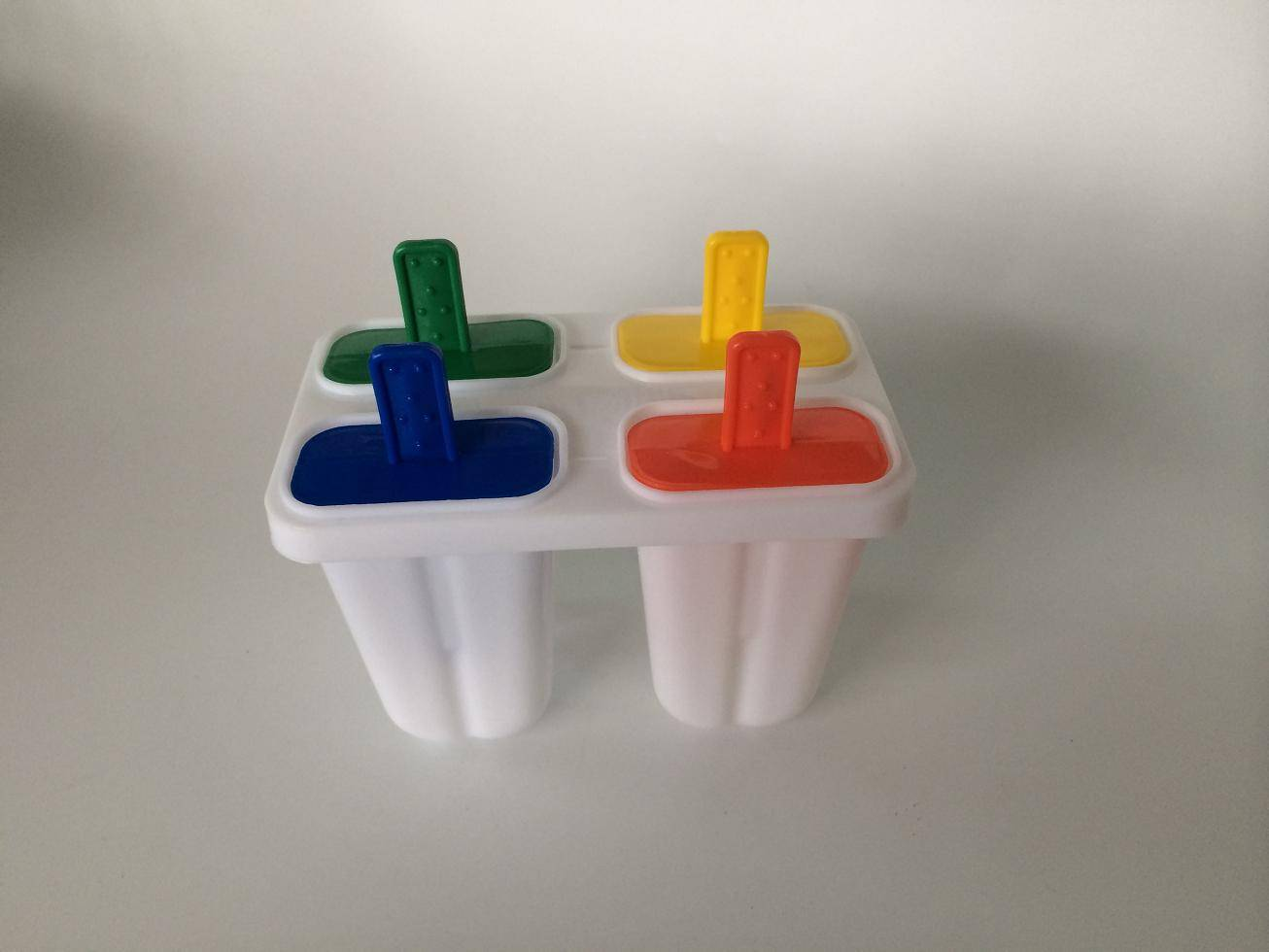 4pcs plastic  ice cream mold
