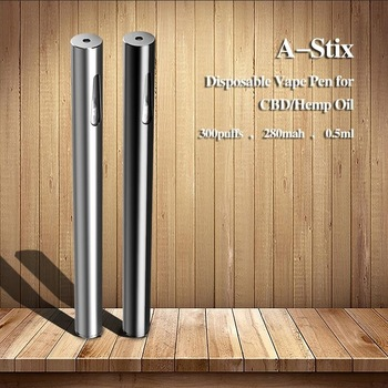 2018 Newest A-Stix Disposable Oil Vape Pen Vertical Ceramic Coil CBD Pen With Competitive Price