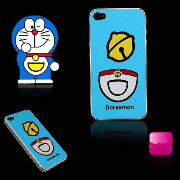 Hot doraemon design back cover case for iphone 4/4s