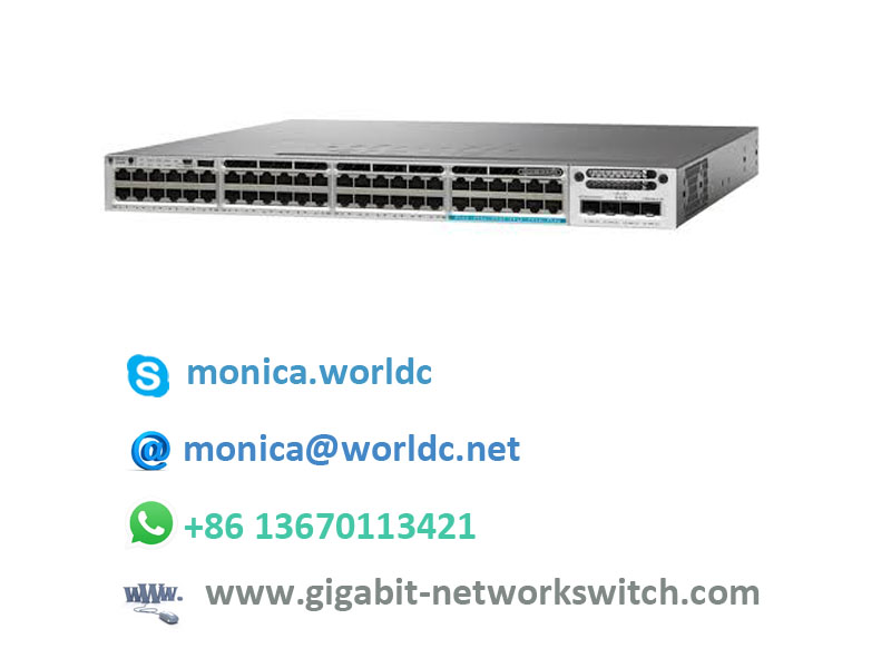 Layer 2 Ethernet Hub Lan Access Switch WS-C2960-48TT-L With 48 Port