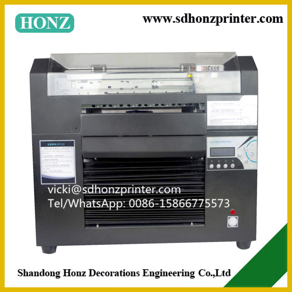 digital a3 size eco solvent flatbed printer dx5 head
