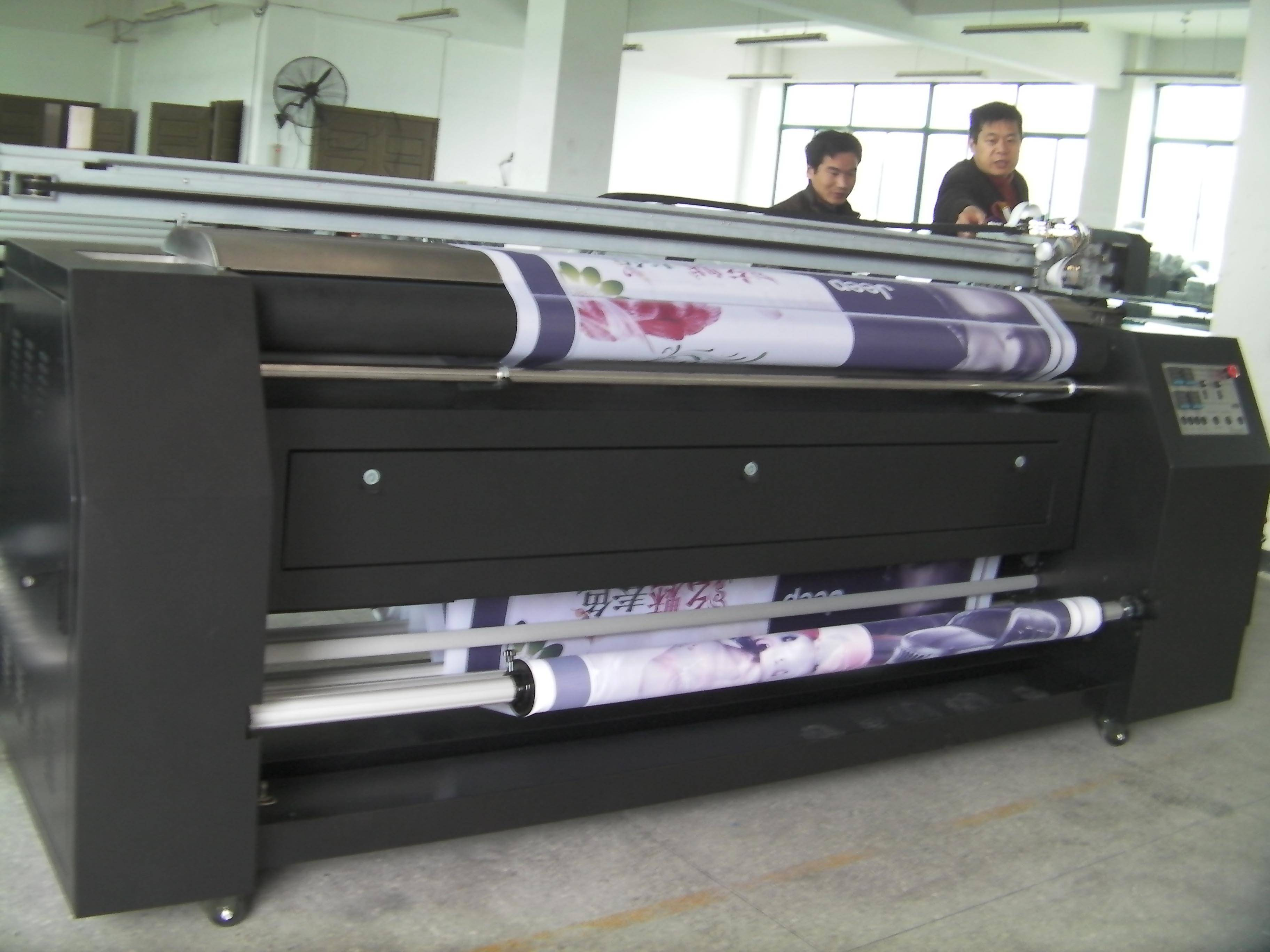 dye sublimation printing system