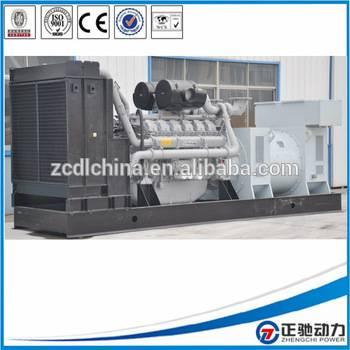 100% Copper Wire Diesel 1250kva diesel generator fuel consumption engine KTA50-G3