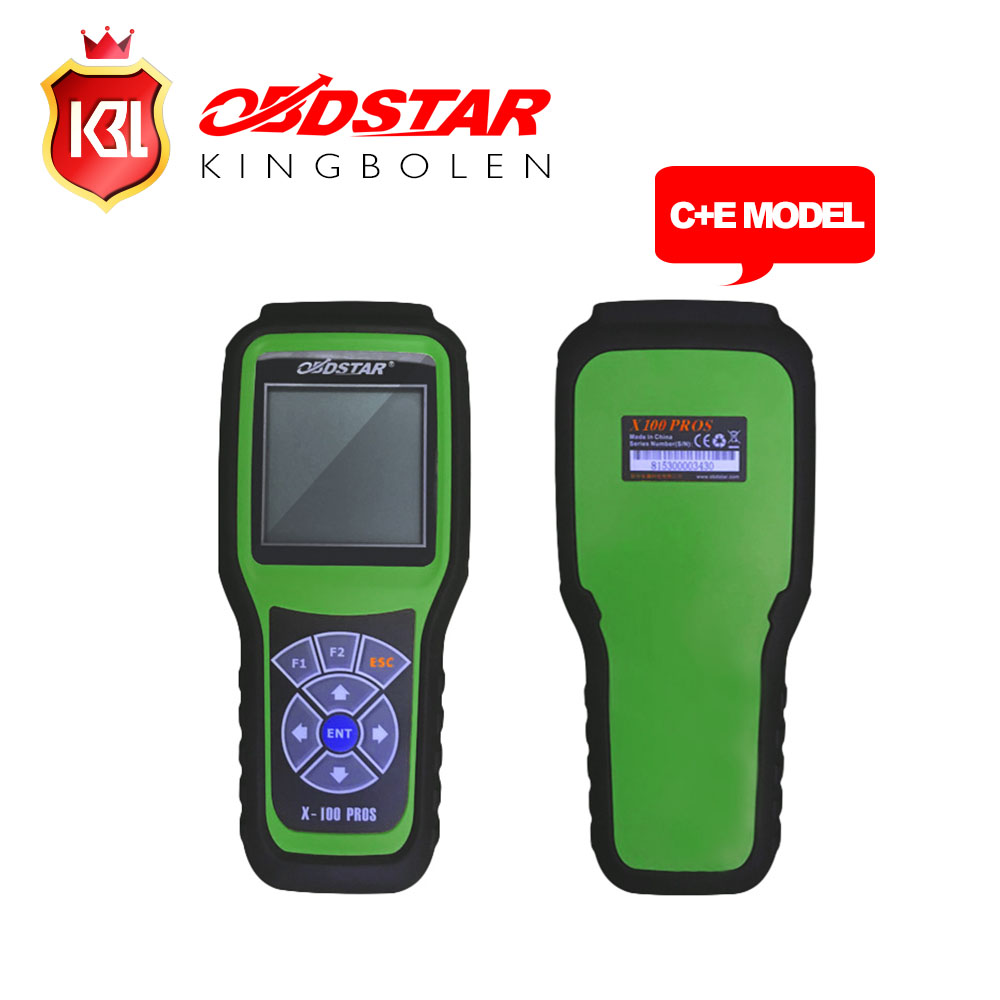 Original OBDStar X100 PROS Auto Key Programmer C Type IMMOBILISER + OBD software with EEPROM Adapter